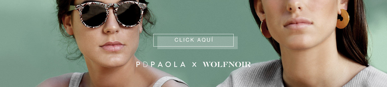 P D PAOLA x WOLFNOIR. New in sunglasses