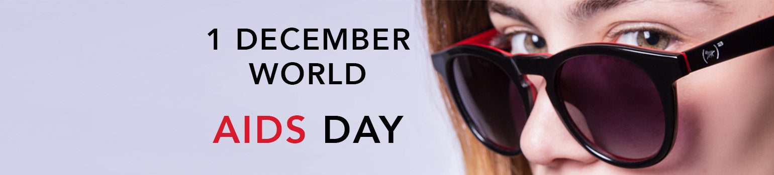 When you buy (WOLFNOIR)RED sunglasses you are fighting against AIDS.