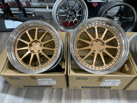 Super Star Leonhardiritt Seele Rose Gold 20x9 20x10.5 5x114.3