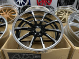 Weds Mavericks 710S Black Polish 20x9 20x10.5 5x114.3