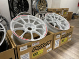 Volk Racing ZE40 RW Limited Edition 18x9.5+45 5x120 Dash White