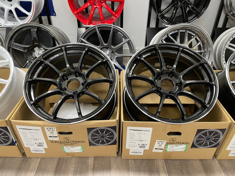 Advan RSIII 18x9.5+45 5x120 Racing Black Gunmetallic