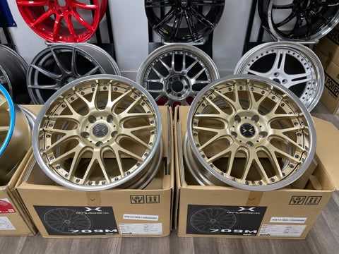Weds Mavericks 709M 18x9.5+39 5x120 Samurai Gold