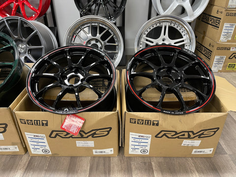 Volk Racing ZE40 Time Attack 16x7+27 4x100