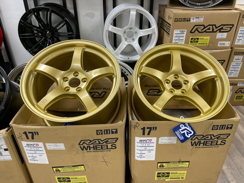 Gramlight 57CR E8 Gold 17x9+38 5x100