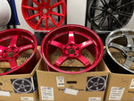 Advan GT Premium 19x9.5+22 19x10.5+32 5x112 Racing Candy Red