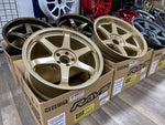 Volk Racing TE37SL 19x9.5+22 19x10.5+35 5x112 Gold