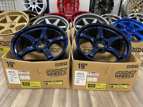 Gramlight 57CR 19x9.5+35 5x120 Eternal Blue Pearl