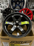 Volk Racing TE37SL BKII 18x9.5+21 5x114.3 Pressed Black