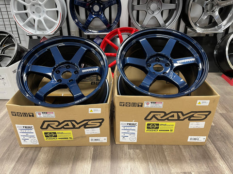 Volk Racing TE37 ULTRA M-SPEC 19x9.5+23 19X11+37 5x120 MAGNESIUM BLUE