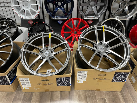 AVS MODEL F50 PLATINUM BLACK  20x9 20x12 5x130