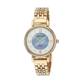 From its golden strap to its ornate inner dial, the Anne Klein Considered watch is truly exquisite.