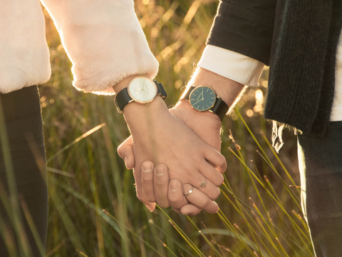 Celebrate your togetherness with couples watches that complement one another.