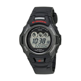The G-Shock Men's Solar Sport Watch features a digital display with day and date screens.