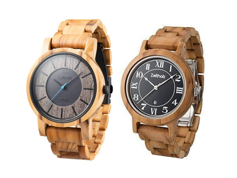 With vibrant and warm hues, the olive wood duo can easily brighten up your day.