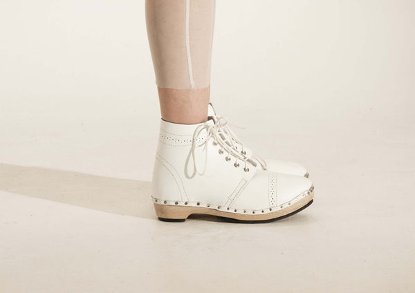 Brogue Clog Boot