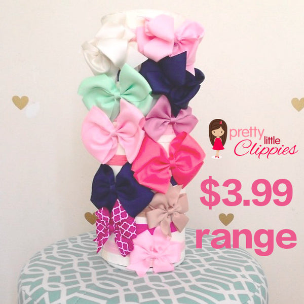 Bows clips headbands babies and girls hair accessories