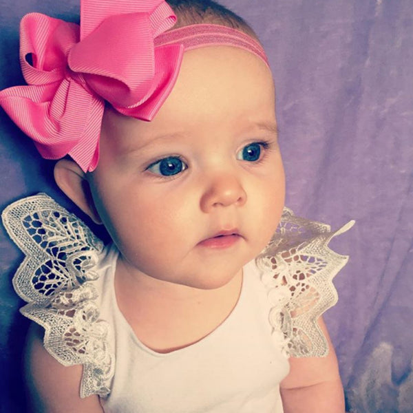 Avani Trixie Bow baby headband