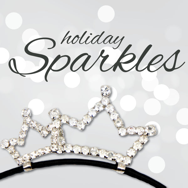40% off Sparkly Range of Hair Clips and Girls Headbands