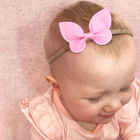 Butterfly baby headbands