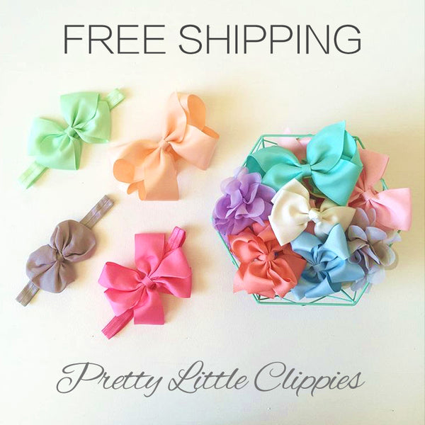 Bows, baby headbands, baby hair accessories
