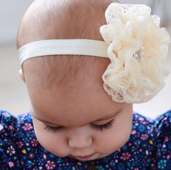 NEW!!! Stunning delicate lace baby headbands - so pretty!!! » Pretty ... 50071a3114f