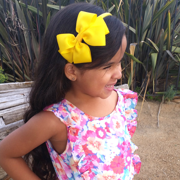 Jiselle Laylah wearing Kayla girls headband