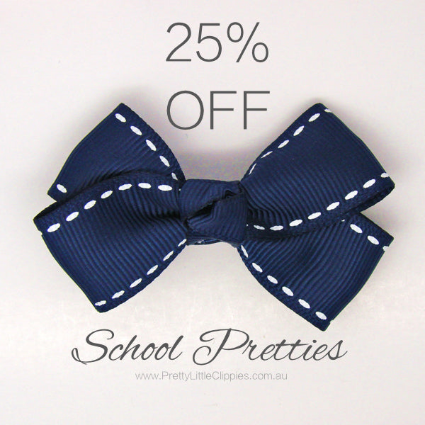 School Hair Accessories | Hair Accessories in School Colours | Hair Bows