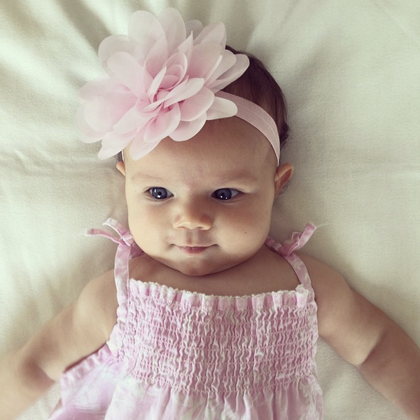 Blossom Flower Baby Headband Beautiful ... ad80473073b