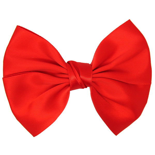 Wendy Satin Hair Bow for Girls | Pretty Little Clippies