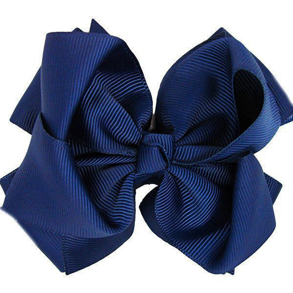 Anika Navy Trixie Bow Baby Headband | Beautiful Bows