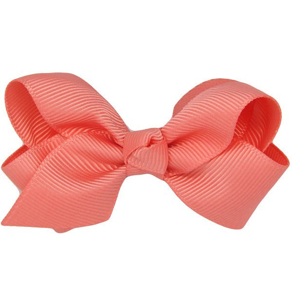 Cara baby hair clip in coral