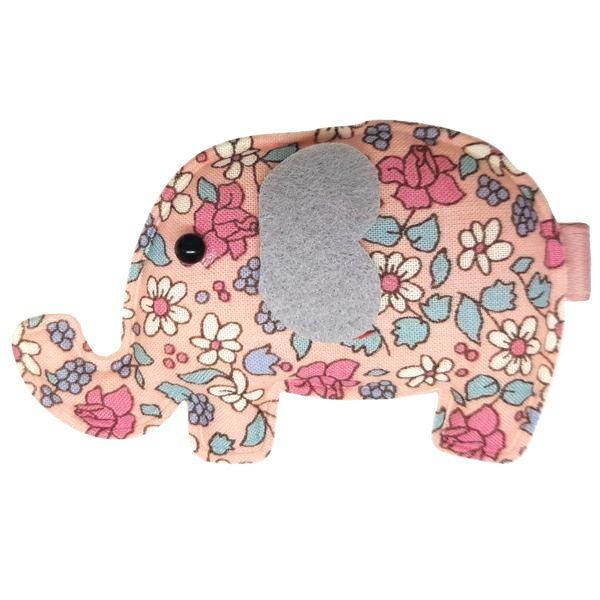 Elle Elephant Baby Hair Clips