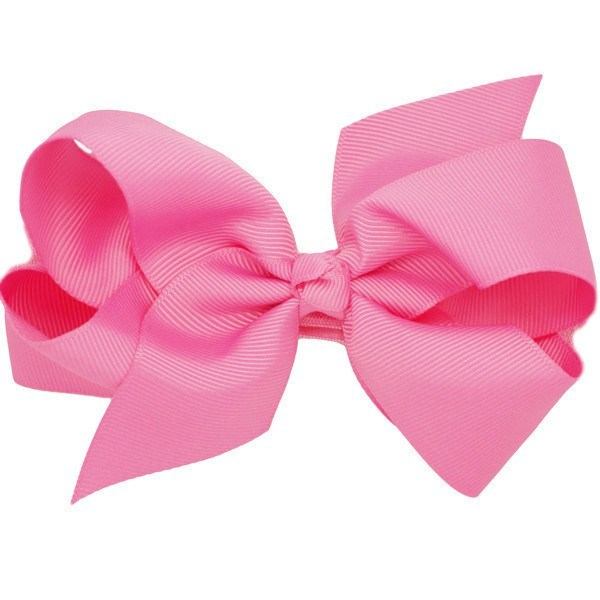 Mollie Medium Bow Pink Baby Headband