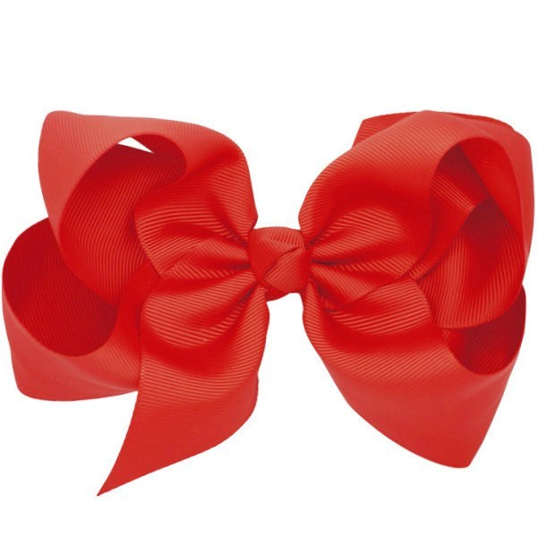 Celeste Red Big Bow Clip | Hair Clips for Babies | Pretty Little Clippies
