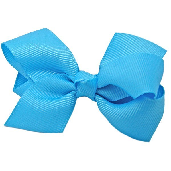 Zahra Baby Hair Bow Non Slip Baby Clip in Turquoise