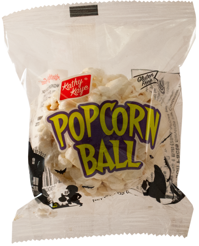 Halloween Popcorn Ball 24 or 72 Count Cases