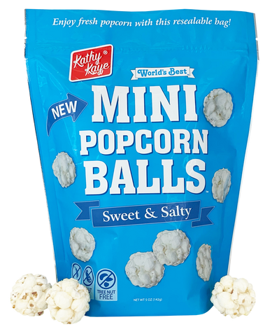 Sweet & Salty Mini Popcorn Balls - 9 Count Case