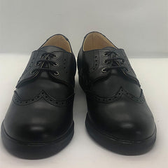 *New* Black Lace Up Brogue