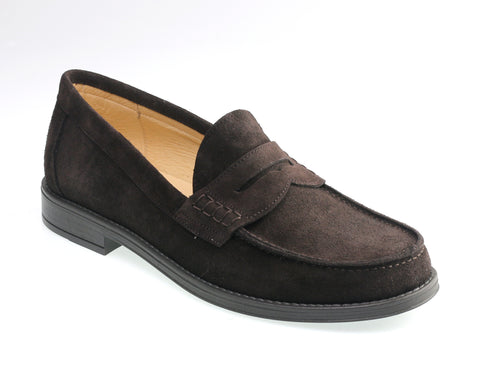 NEW!  Brown Suede Loafer