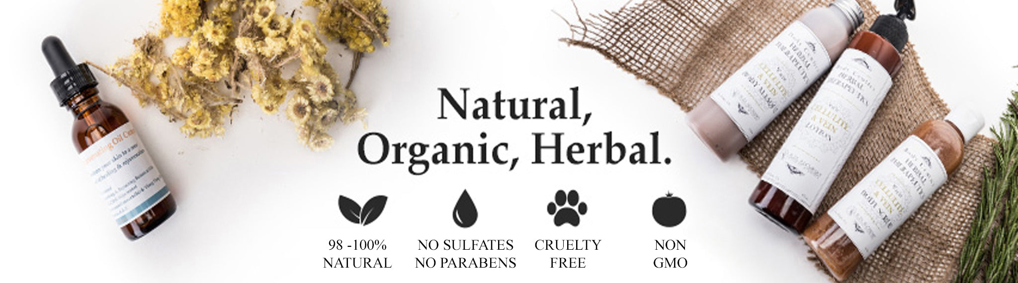 100% natural skincare products