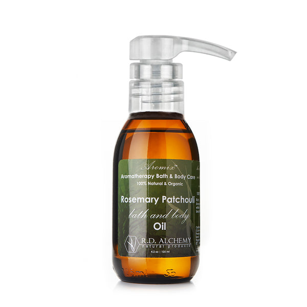 Organic Rosemary Patchouli - Bath & Body Oil