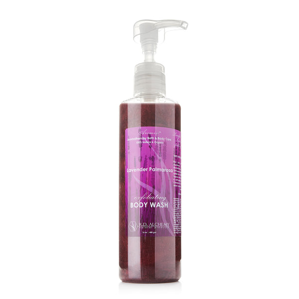 Lavender Palmarosa - Body Wash Shower Gel