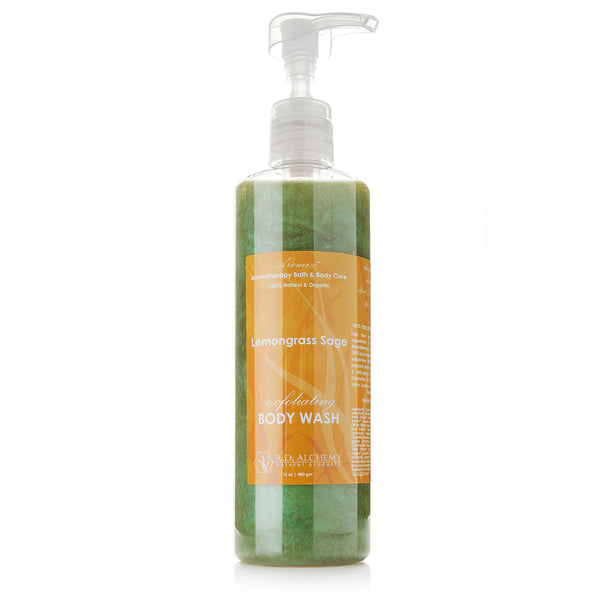 Organic Lemongrass Sage - Body Wash Shower Gel