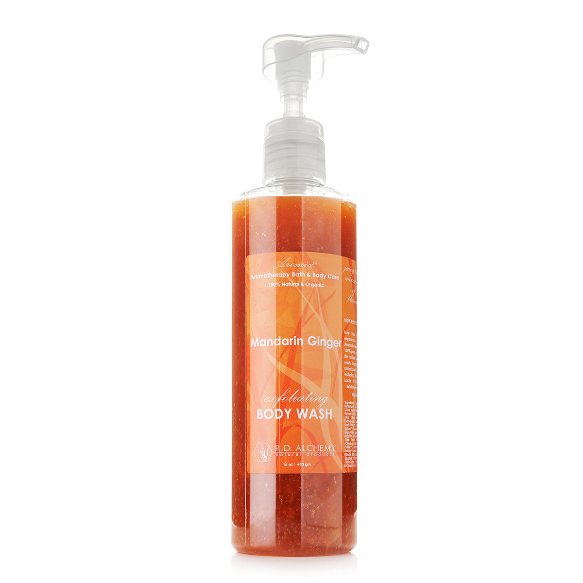Organic Mandarin Ginger - Body Wash Shower Gel