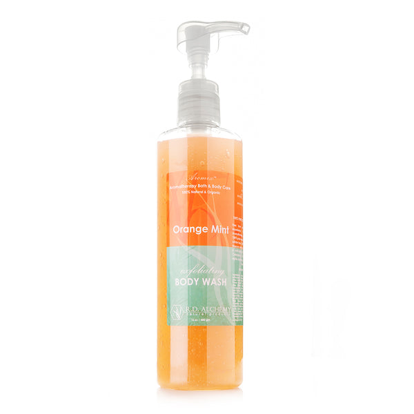 Organic Orange Mint - Body Wash Shower Gel