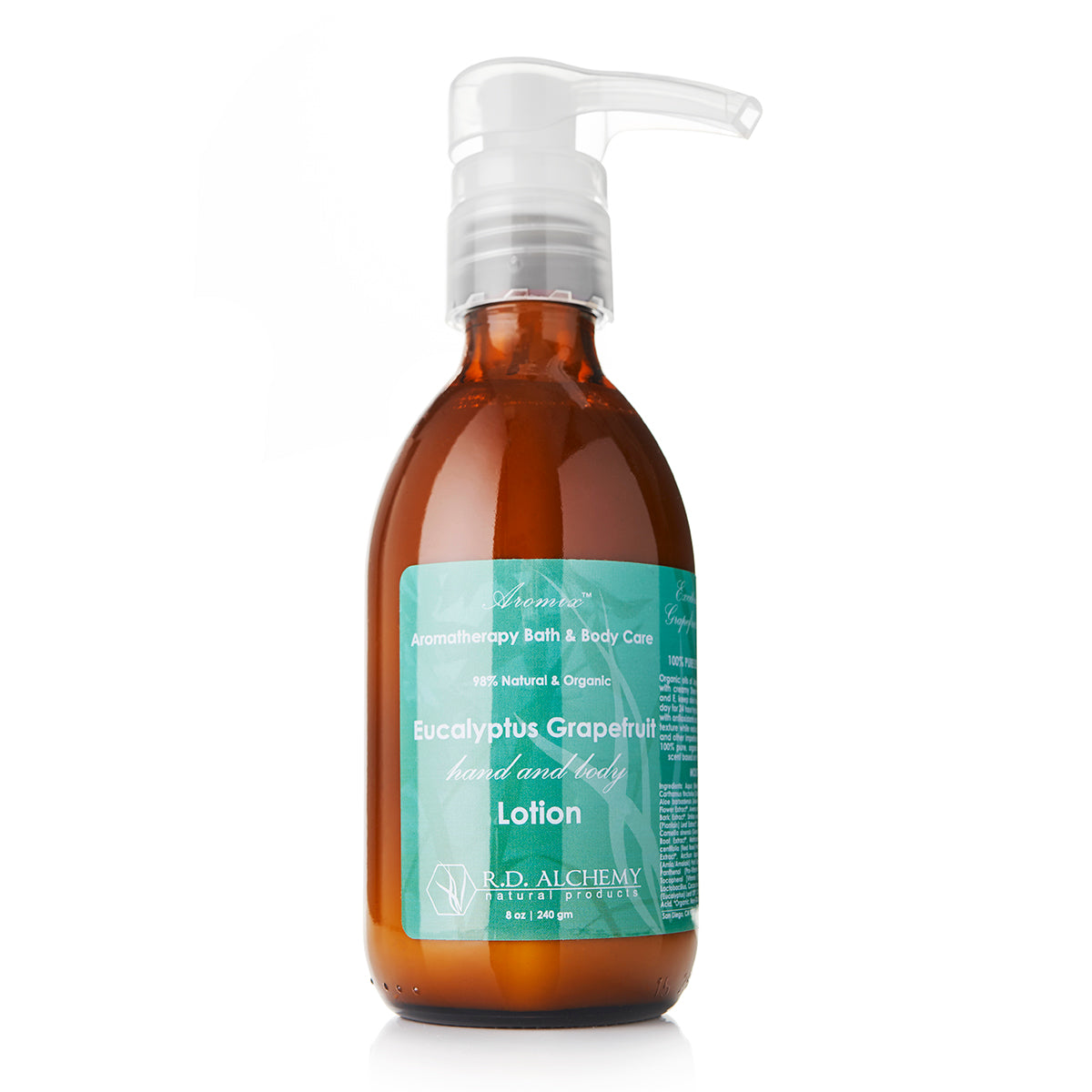 Aromatherapy Hand & Body Lotion - Eucalyptus Grapefruit