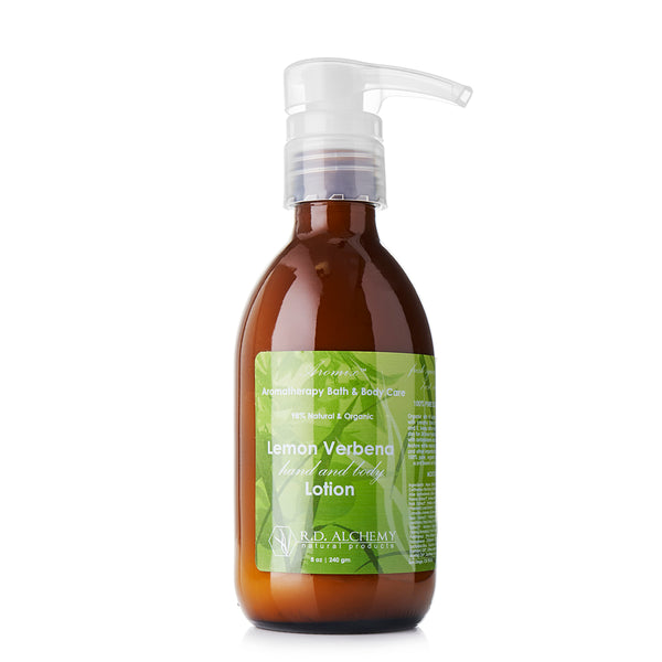 Organic Lemon Verbena - Hand & Body Lotion
