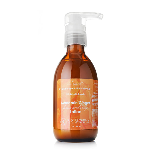 Organic Mandarin Ginger - Hand & Body Lotion