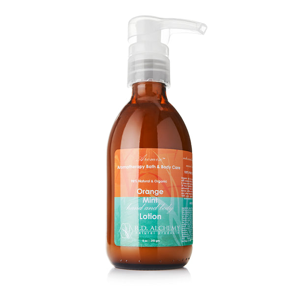 Organic Orange Mint - Hand & Body Lotion